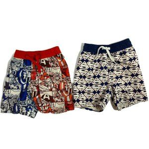 Marvel & DC Comics SUPERMAN Toddler Swim Trunks